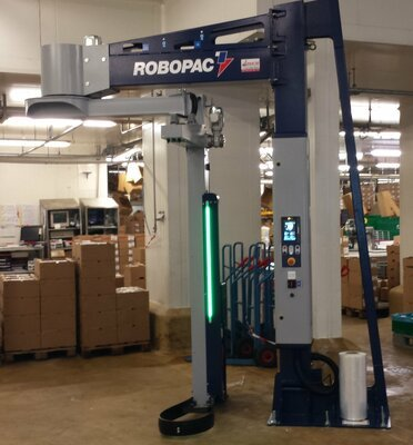 Banderoleuse ROBOPAC ROTARY 508 PDS
